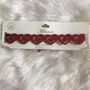 Jewelry - Ⓜ️red choker